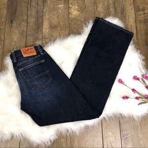 Lucky Brand Dungarees Easy Rider Size 6 Long
